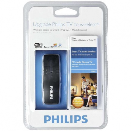 Wi-Fi адаптеры для ТВ, Wi-Fi адаптер Philips PTA01/00